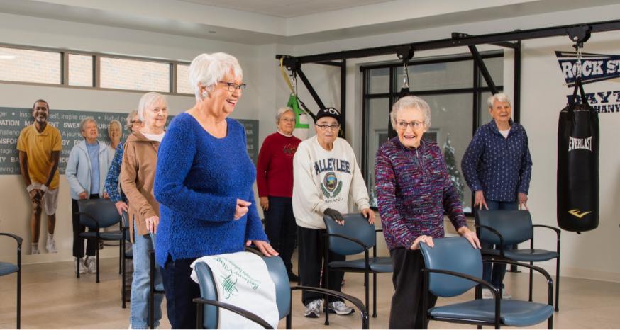 Bethany Village Fitness Center Class